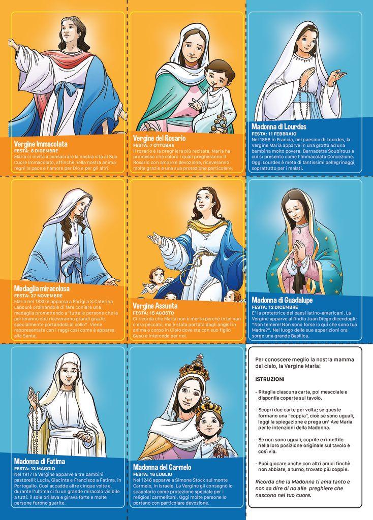 thumbnail of Memory card Vergine Maria