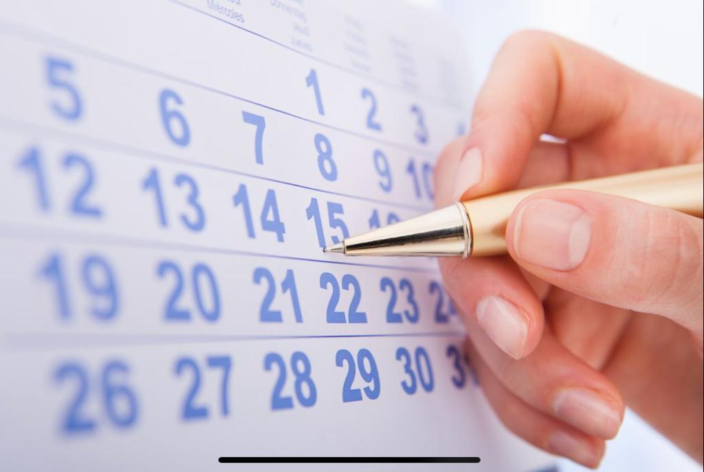 Calendario Parrocchiale 2020/21 – Prima stesura